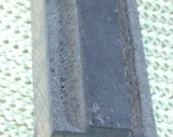"""Antique Wood Block Letterpress  2 1/2"""" Letter T"""