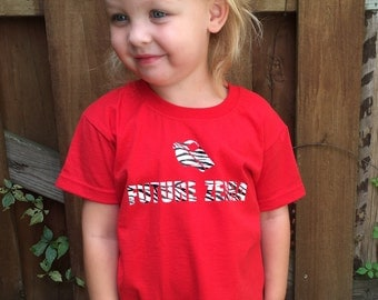 Future Zebra Roller Derby t-shirt
