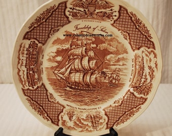 Friendship of Salem Collector Plate - 10 3/4 Inch
