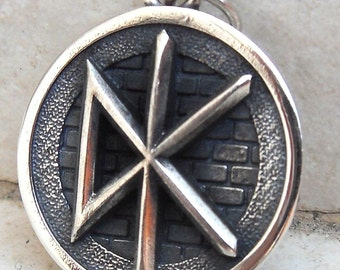 Dead Kennedys 3D Pendant Solid Sterling Silver 925