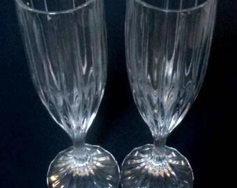 Mikasa 'Park Lane' Set of Champagne Flutes