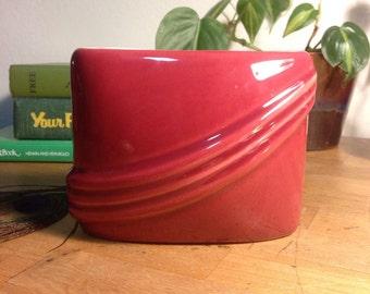 Magenta Oval Planter Pot