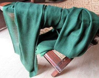Wonderful Green Wool Pashmina.India Pashmina.Cashmere Pashmina.