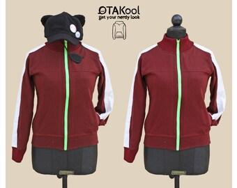 OTAKool:Fullzip sweatshirt and accessories inspired by ASUKA SHIKINAMI LANGLEY's ones weared in Rebuild of Evangelion!