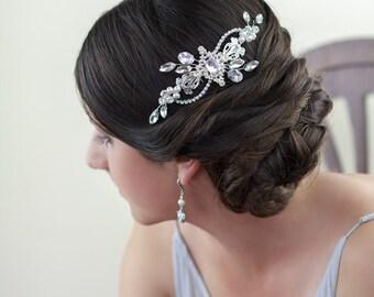 Sale 20% Off - Bridal comb, Clara Bridal Headpiece, Wedding headpiece
