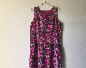 Vintage Dress Reversible