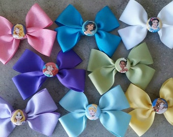 Disney Princess Bow Collection. Disney Princess Bow Set.