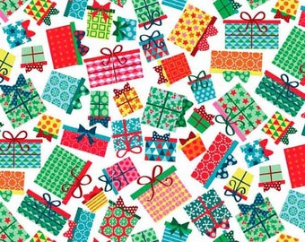 Christmas 2016 Frosty - Presents - Makower UK - Andover (TP-1583-1)