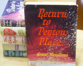 "Grace Metalious "" Return to Peyton Place""  The Book Club, London 1960"