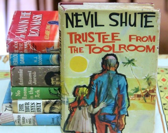 "Neville Shute  ""Trustee from the Toolroom ""  First edition - Heinmann Press 1960"