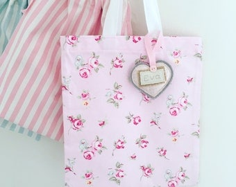 Mum and daughter Matching Tote Bags