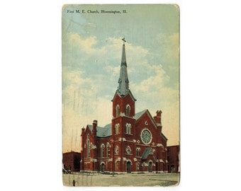 Methodist Church Etsy