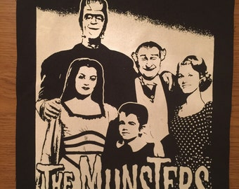Munsters Cloth Back Patch