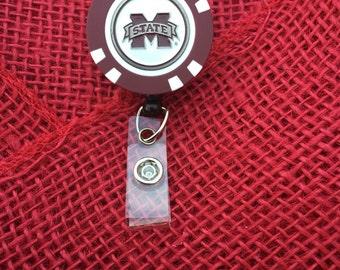 Mississippi State Bulldogs badge reel