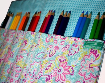 Personalized Pencil Case for Colored Pencils