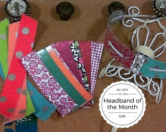 Headband of Month Club 12 Month Subscription