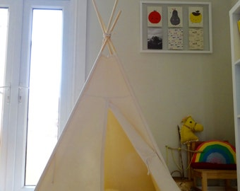 Contton Canvas Playmat for Teepee