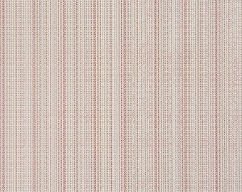 Contemporary Zipper Teeth Textural Carmine Red Wallpaper R1894