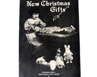 1927 New Christmas Gifts Instructional Pamphlet