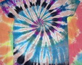 Trippy Spiral Rave Tie-Dye T-shirt