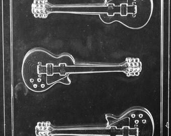 LOPJ-110- Electric Guitar Chocolate Mold