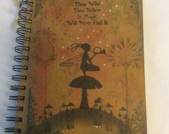 Night watch - magical fairy notebook
