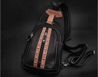 Leather Backpack K05D52