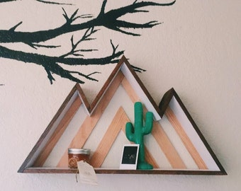 Mountain Triangle shelf