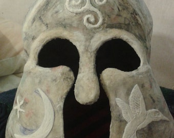 Custom masks and Helmets (PVA Paper Mache, very durable)