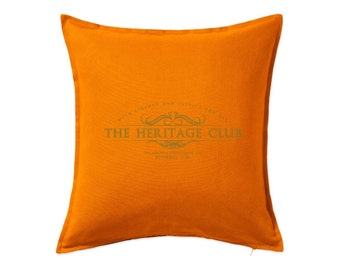Trading Places: The Heritage Club Cushion