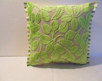 Designers Guild Velvet Calaggio-Apple Cushion Cover
