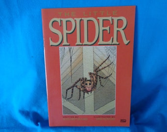 vintage 1990 The Little Spider book by  Margaret Beames