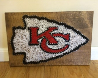 Kansas City Chiefs String Art