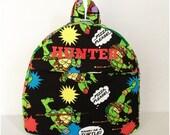 Ninja Turtle Toddler Backpack
