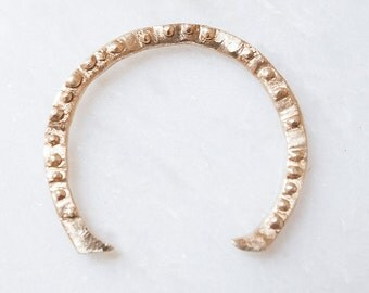 Brass Horseshoe Cuff