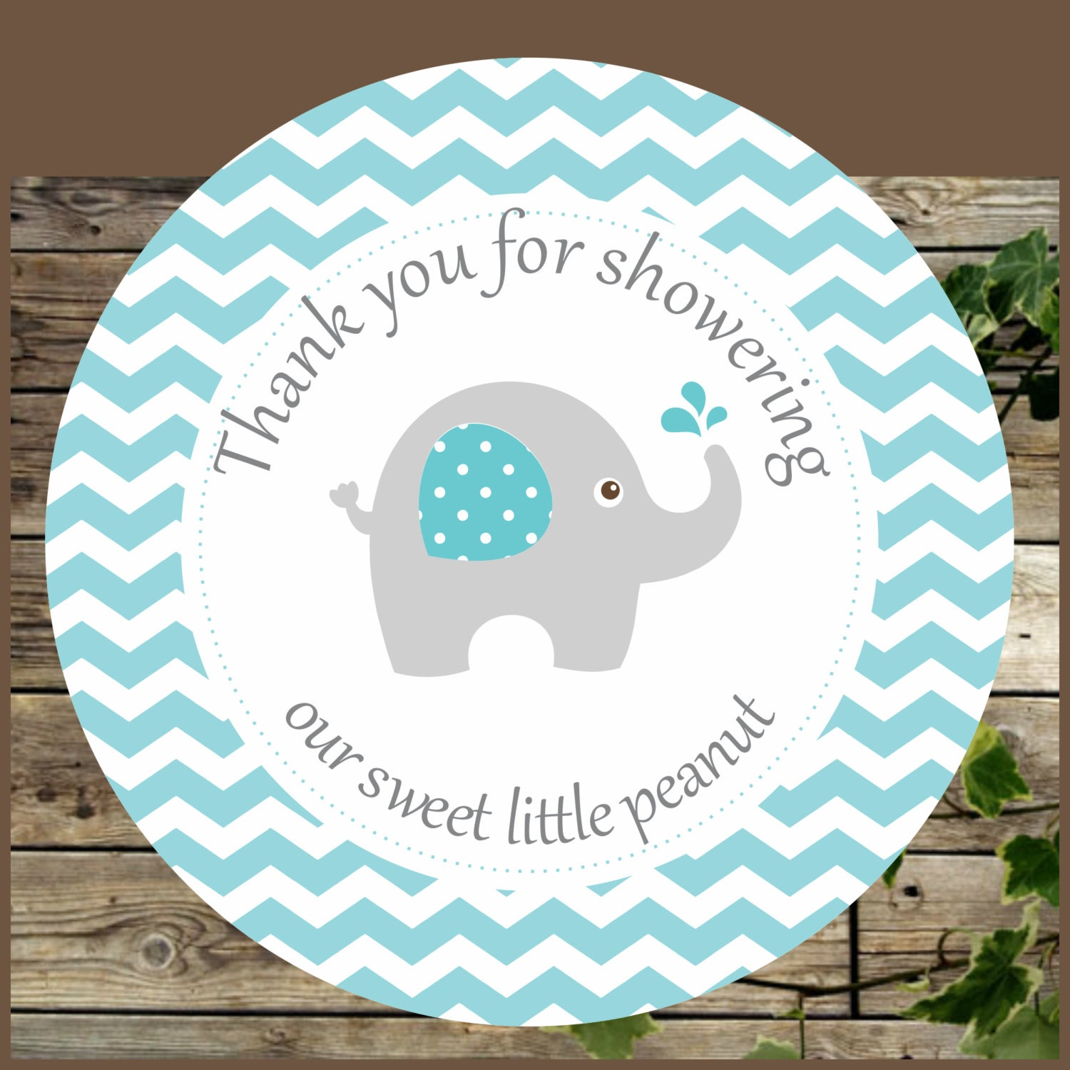 Gorgeous image intended for printable elephant baby shower