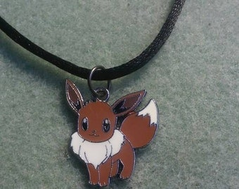 "Cute Pokemon""Eevee"" necklace."