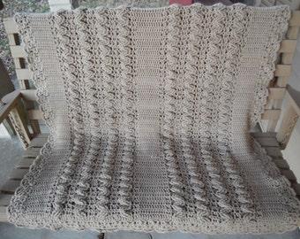 Adorable Crochet Throw!