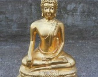 Awesome Heavy Brass Buddah Statue!