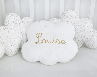 Soft and poetic this round cloud pad, with theme pretty name!