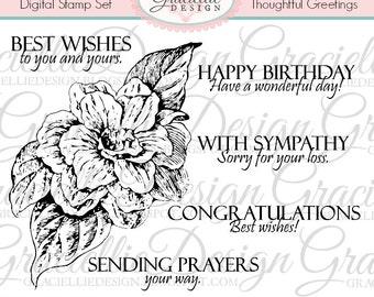 Thoughtful Greetings Digital Stamp Set