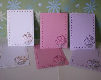 embossed card layers, glitter embossed cupcake layer, embossed card layer, embossed glitter cupcake layer