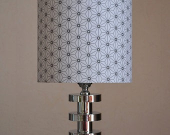 White/grey bedside lamps ORIGAMI