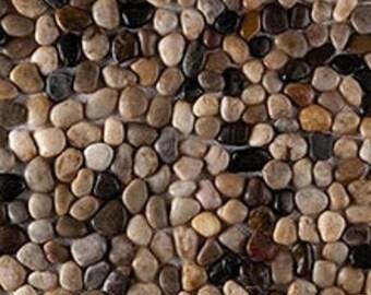 Tumbled River Rock Natural stone tile 10sq'
