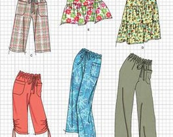 Simplicity Pattern 2414 Misses Skirt & Pants