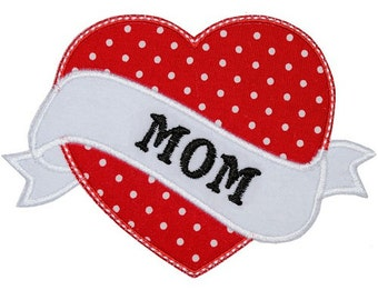Mom Tattoo Heart Onesie/Tshirt
