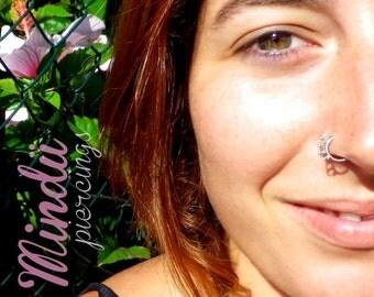 P2J Nose piercing siver