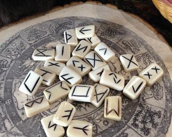 Bone Rune Sets - Elder Futhark