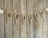 It's Fall Y'all Pumpkin Burlap Banner-Farmhouse Fall Burlap Banner-Thanksgiving Banner-Fall Banner-Halloween Banner-Fall Decor-Autumn Decor