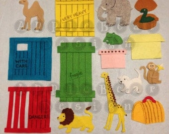 Felt Board Story Set: Dear Zoo